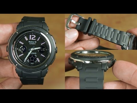 Casio Baby-G BGA-150-1B - UNBOXING - YouTube 8716d8c112a