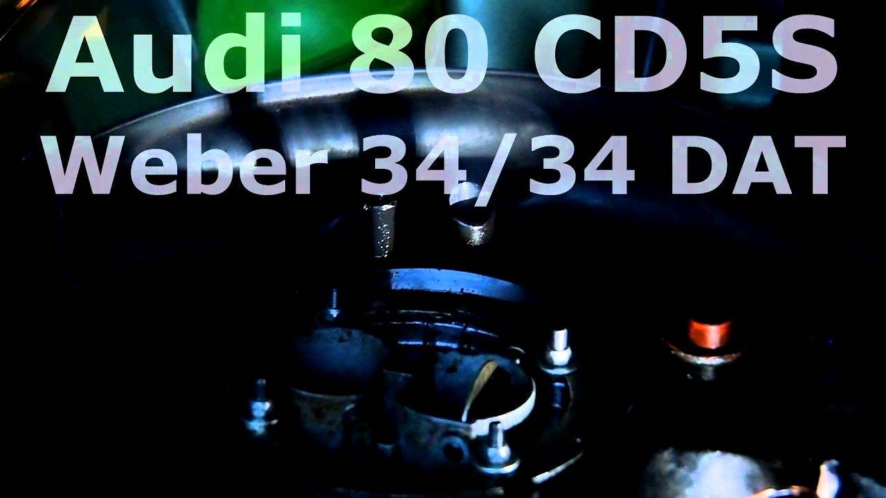 audi 80 cd 5s with weber 34 34 dat youtube rh youtube com