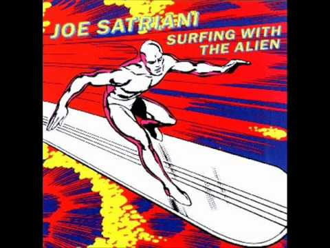 Joe Satriani - Surfing with the alien original backing track