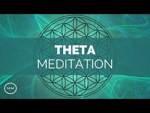 (Extremely Powerful) Theta Waves Meditation - Deep Relaxation - Binaural Beats