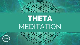 Extremely Powerful Theta Meditation Music - Deep Relaxation - Binaural Beats
