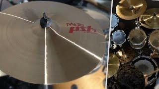"Cymbale Paiste Crash 16"" PST7 Thin | TEST"