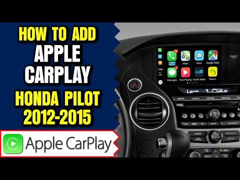 Honda Pilot Apple Carplay, 2012-2015 Honda Pilot Apple Carplay Honda Pilot Android Auto 2 In 1