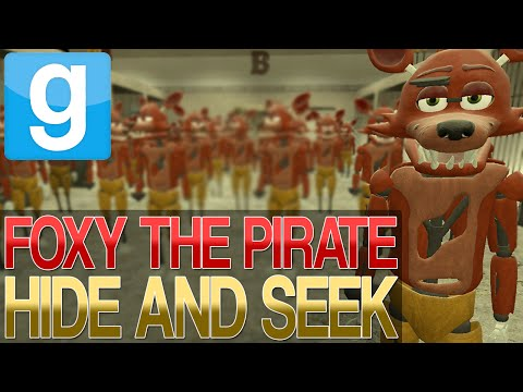 Garrys Mod   ULTIMATE FOXY HIDE AND SEEK   Gmod Five Nights At Freddys Mini-Game!
