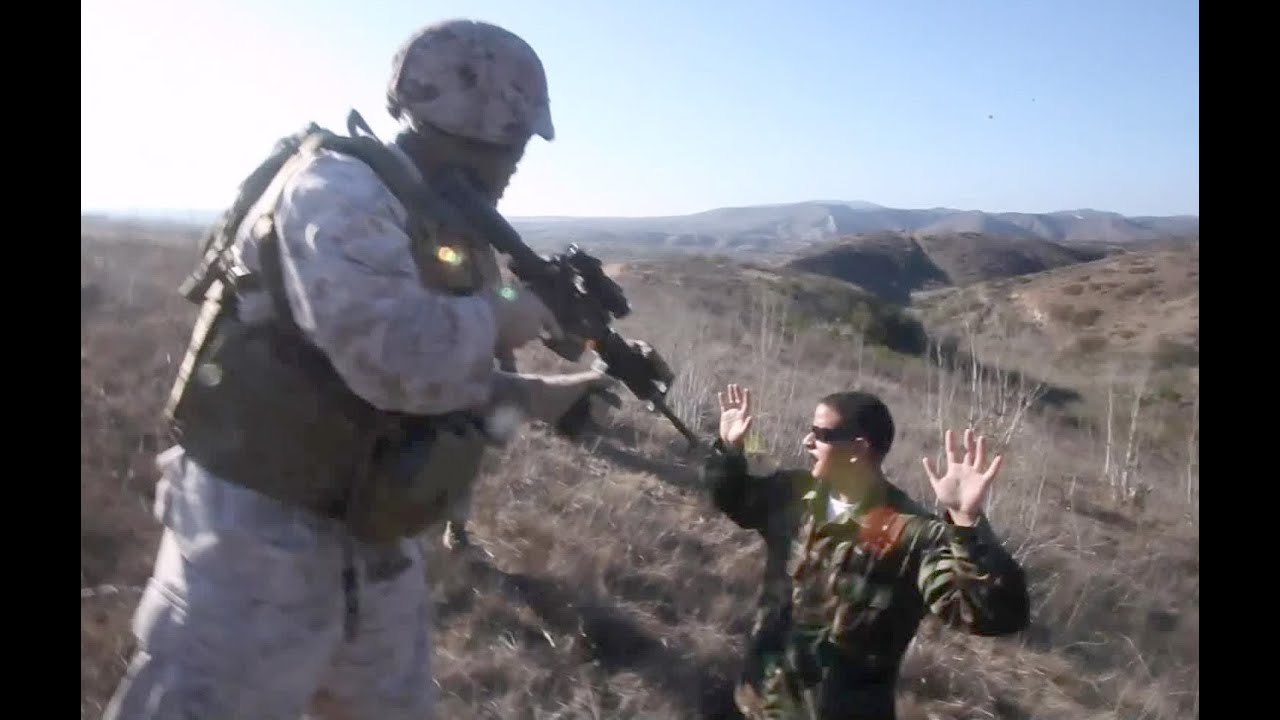 u s  marines 1st anglico conducts trap training