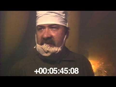 1986.06 ЧАЭС. Прожог стенки четвертого энергоблока.