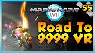 Mario Kart Wii Custom Tracks - PERFECT GAMEPLAY?! - Road To 9999 VR   Ep. 55