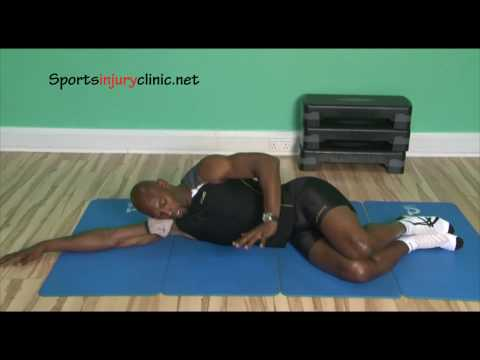 Pilates body The Clam Exercise