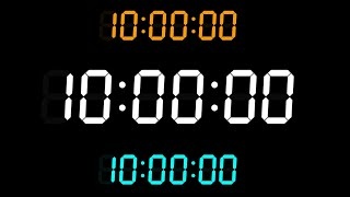 10-Hour Stopwatch Counter