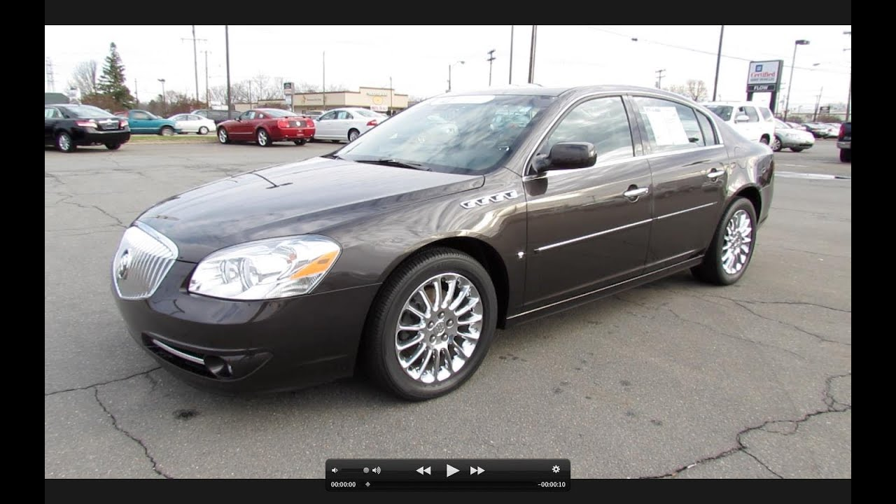 2008 Buick Lucerne Super 46L NHP V8 Start Up Exhaust and In