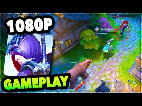 SURVIVAL HEROES MOBA+Battle Royale Game | New Survival Heroes iOS/ANDROID GAMEPLAY #1 Nickatnyte