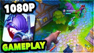 SURVIVAL HEROES MOBA+Battle Royale Game   New Survival Heroes iOS/ANDROID GAMEPLAY #1 Nickatnyte