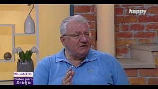 Војислав Шешељ у емисији Добро јутро Србијо на ТВ Хепи