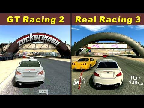 GT Racing 2 Vs Real Racing 3 @ Mazda Raceway Laguna Seca