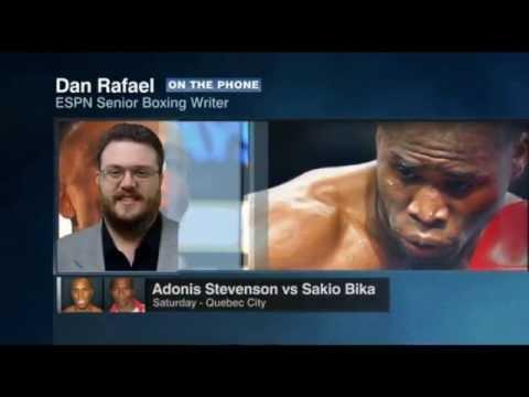 Adonis Stevenson Vs Sakio Bika | Dan Rafael Report | ESPN Boxing | ESPN Making The Round