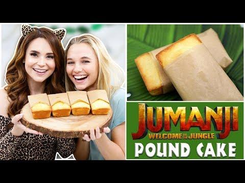 JUMANJI POUND CAKE ft Madison Iseman - NERDY NUMMIES