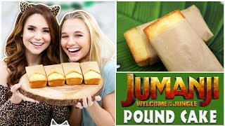 JUMANJI POUND CAKE ft Madison Iseman - NERDY NUMMIES