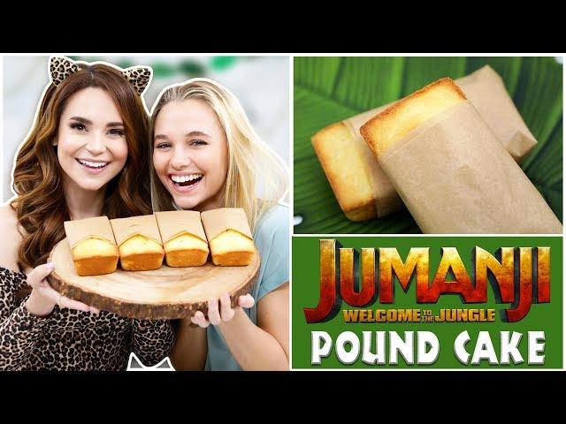 Jumanji Pound Cake Ft Madison Iseman Nerdy Nummies