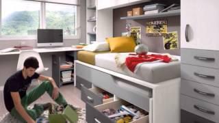 Gambar cover Dormitorios Juveniles Y Habitaciones Infantiles Compactos