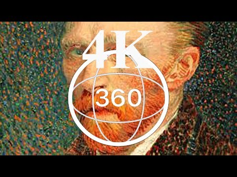 VAN GOGH ALIVE - ATHENS The Entire Show Gallery - 4K 360