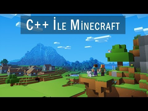 Minecraft Herobrine C++ Konsol  Çizdim...