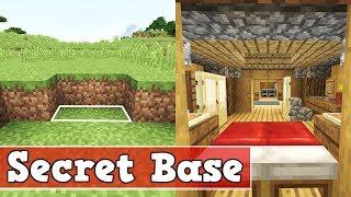 Wie baut man eine Moderne Geheime Basis in Minecraft | Minecraft Geheime Basis Bauen Deutsch