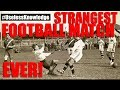 The STRANGEST Football Match of All Time | #UselessKnowledge
