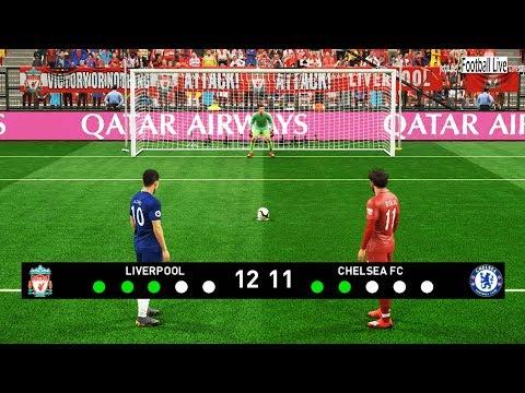 PES 2019 | Liverpool vs Chelsea | Penalty Shootout | Gameplay PC | Mo Salah vs E.Hazard