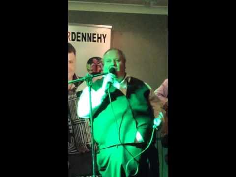 The Singing a Barman , John Horgan Bright Blue Rose