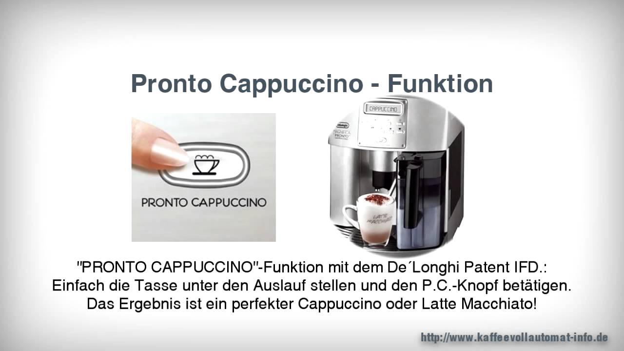 delonghi eam 3500 s kaffeevollautomat youtube. Black Bedroom Furniture Sets. Home Design Ideas