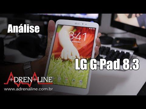Análise LG G Pad 8.3 - tablet Android com ótimo design e tela, só não é muito potente
