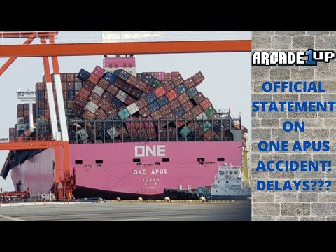 Arcade1up: Shipping Accident Official Statement! Delays Coming? from PsykoGamer