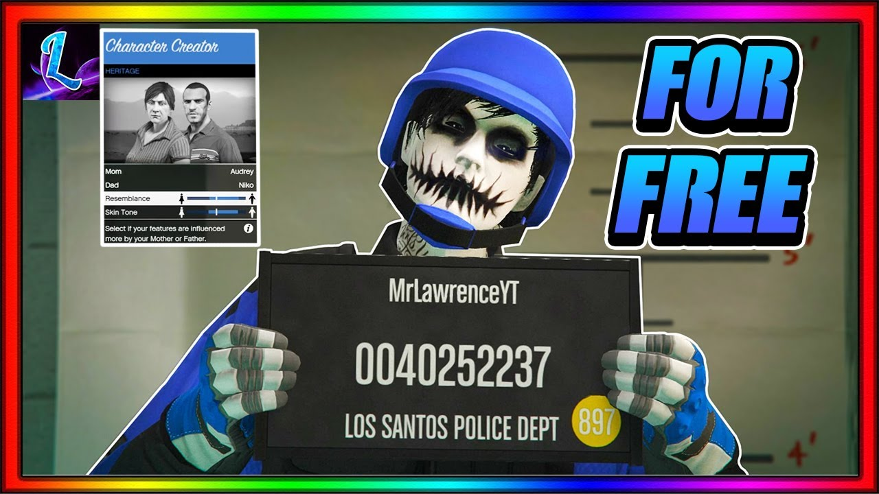 How To Change Your Characters Appearance For FREE!! ( GTA 5 ONLINE )