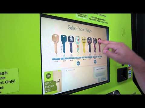 Key Maker Walmart >> Self Service Key Copy Youtube