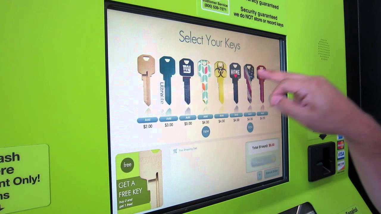 Self Service Key Copy - YouTube
