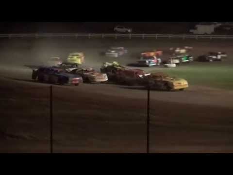 2015 Fall Bash Outlaw Super Bombers feature Jackson County Speedway 10/3/15