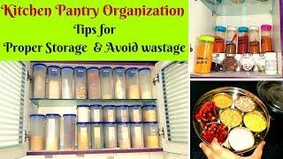 Kitchen Pantry Organization Ideas -Tips to Avoid Wastage Kitchen Series 5