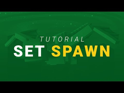 How To Set Spawn On A Minecraft Server World