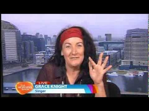 Grace Knight (Eurogliders) - Morning Show interview 8 Nov 2013