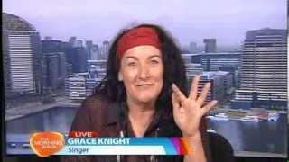 Grace Knight (Eurogliders) - Morning Show interview 8 Nov 2013