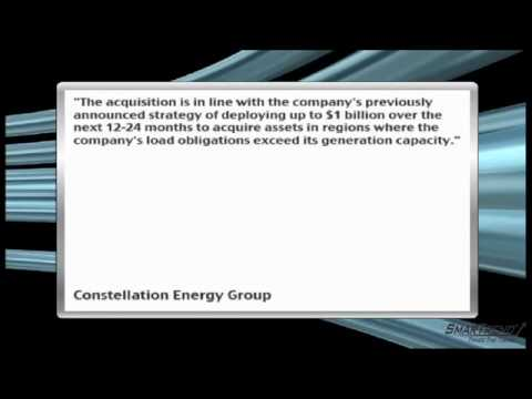 News Update: Constellation Energy Group, Inc. to Buy Two Navasota Energy Gas Plants