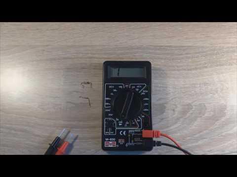 Как проверить диод мультиметром?