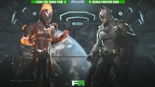 Final Round 2018 - Injustice 2 - Winners Finals Echo Fox Sonic Fox Vs CIRCA Forever King