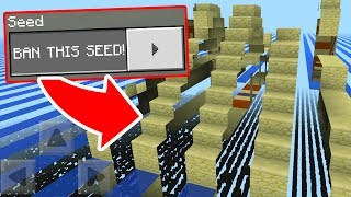 This SEED should be BANNED in Minecraft Pocket Edition!!