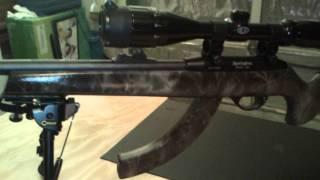 Js Camouflage Customs (forest) Remington 597 .22lr Part 1