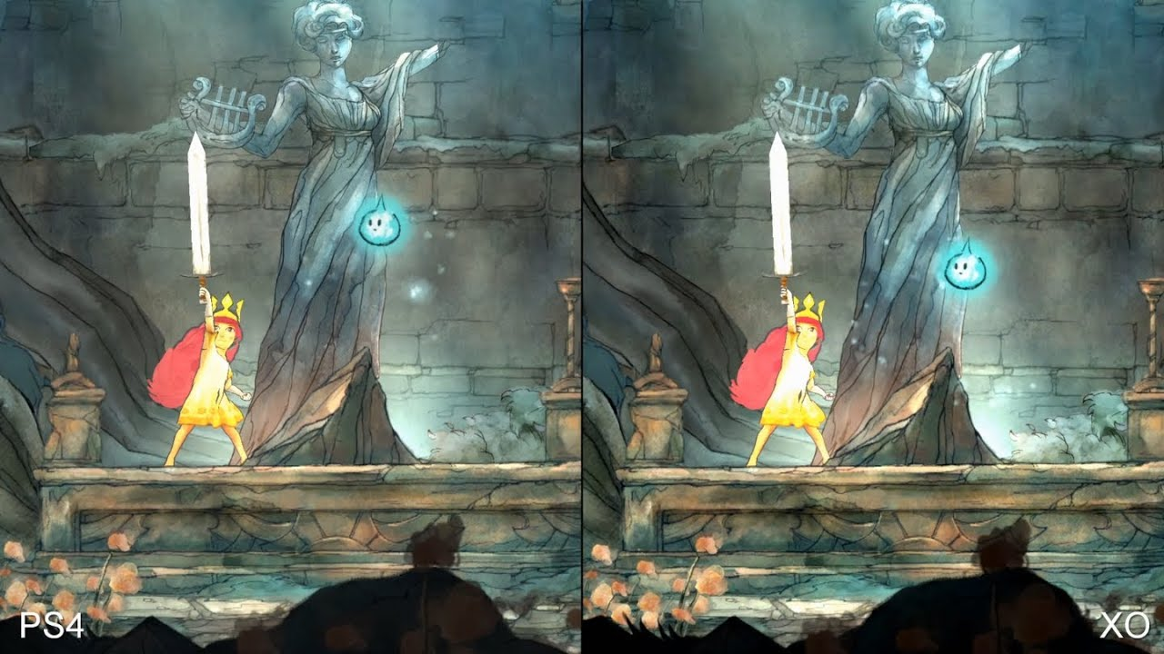 Child Of Light PS4 Vs Xbox One Comparison Design