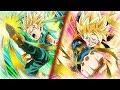 INT & TEQ TAG TEAM! Goten & Trunks HYBRID SAIYAN CATEGORY TEAM | Dragon Ball Z Dokkan Battle
