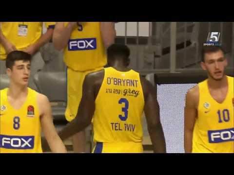 Recap: Maccabi FOX Tel Aviv - Olimpia Milano 75:80