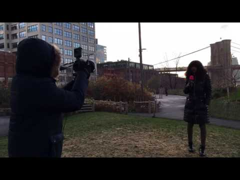 Video work on location, Manhattan NY. One Image Creation