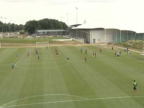 UEFA A Licence Part 2 Coaching Session @ St George's Park